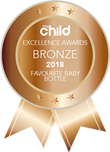My Child Magazine Excellence Awards Bronze 2018 Favourite Baby Bottle